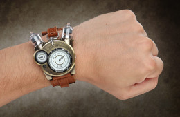 Tesla Watch - Steampunk Geek