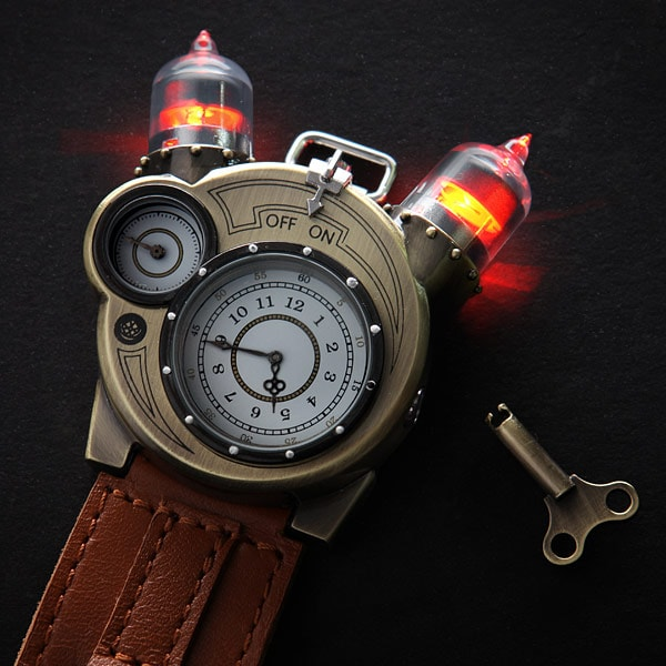 Tesla Watch - Steampunk Geek 3
