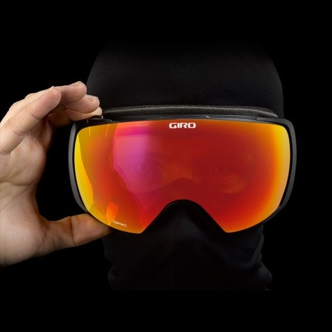 Giro 2015-16 Contact Winter Snow Goggles Interchangeable Lenses 2