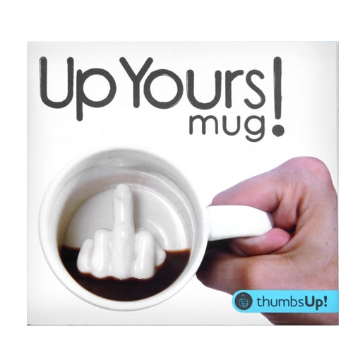 Thumbs Up! Up Yours Mug - Perfect Pal Gift 2