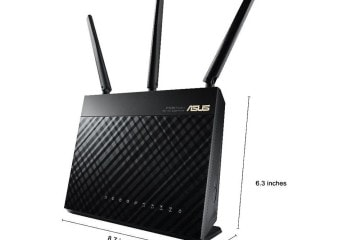 ASUS (RT-AC68U) Wireless-AC1900 Dual-Band Gigabit Router