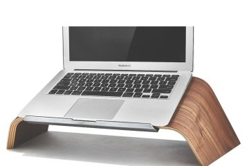 GROVEMADE Walnut Laptop Stand - Handmade Beauty