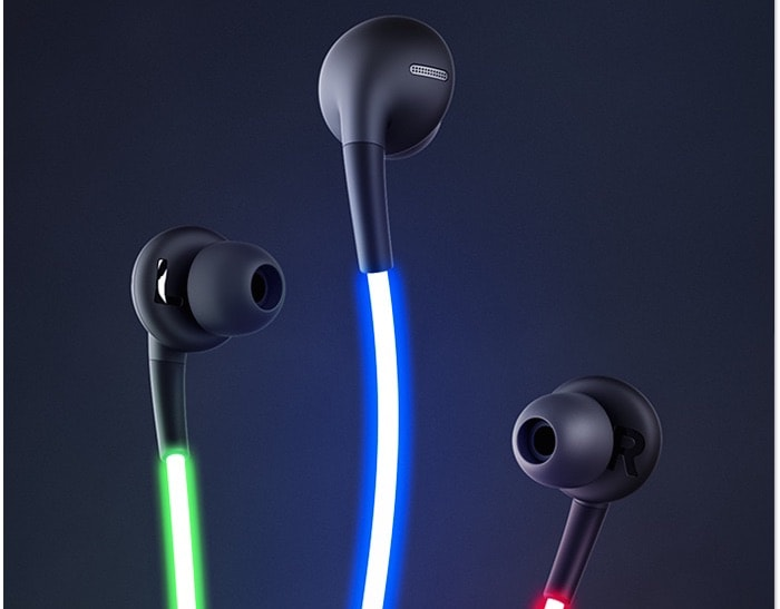 Glow Laser Headphones - Wires Glow