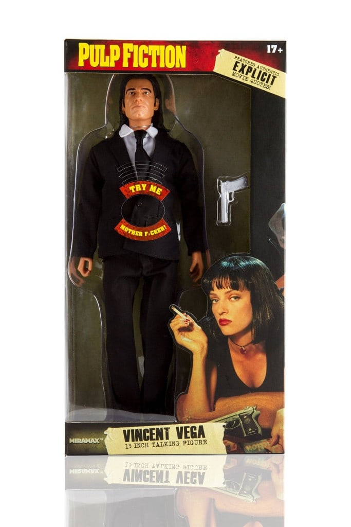 Pulp Fiction Explicit Talking Figure - Royale With Cheese