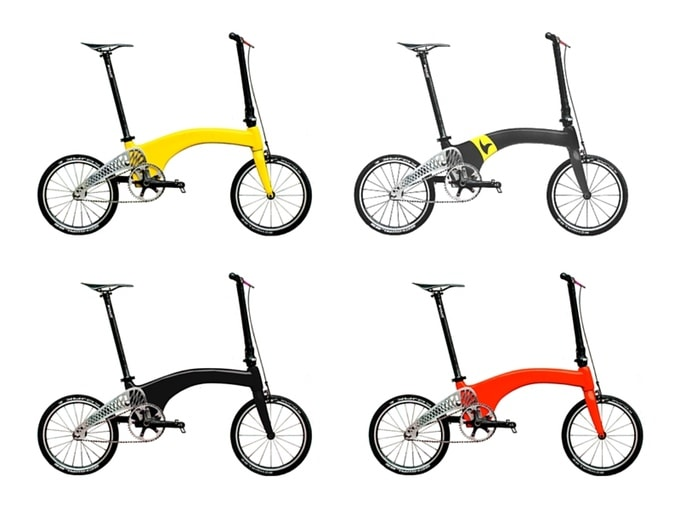 HUMMINGBIRD The World's Lightest Folding Bike 1