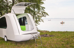 Sealander Camper - Camping While Floating