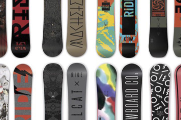 Best All-Mountain Snowboards - Mens and Womens