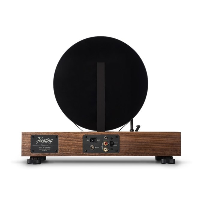 Gramovox Floating Record - Vinyl Record Stand Up Spin 3
