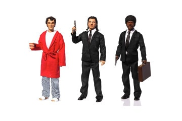 Pulp Fiction Explicit Talking Figure - Royale With Cheese back