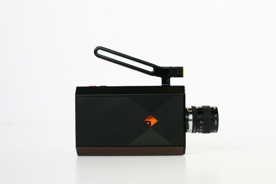 Kodak and Yves Béhar Super 8 Camera 1